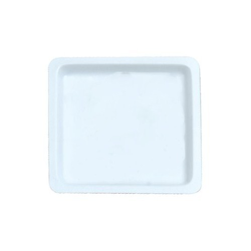 Heathrow Scientific HS1422, Gravity 90x90x7mm White Square Flexible Polystyrene Weigh Boat
