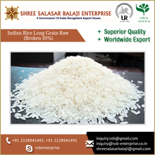 Best Quality 10% Broken Indian Long Grain Rice Available in Convenient Packing/ Bag