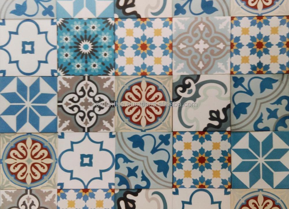 Carreaux de ciment encaustique patchwork vietnam - Carreaux de ciment patchwork ...