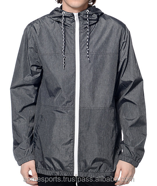 Wind Breaker Jacket - 2017 mens rain jacket wholesale wind breaker,nylon windbreaker, soft nylon windproof jacket