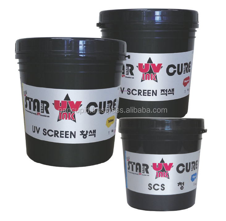 (0617) Korea factory uv silk screen ink
