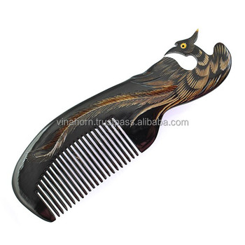 Buffalo horn comb, cow horn combs, fashion horn comb
