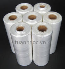 Food roll plastic bag made of 100% virgin material and very safe for food
