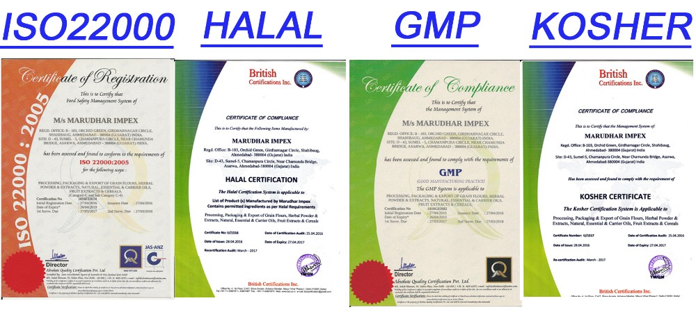 HIGH QUALITY QUINOA CERTIFIED BY KOSHER, HALAL, GMP, ISO22000 PROSSE