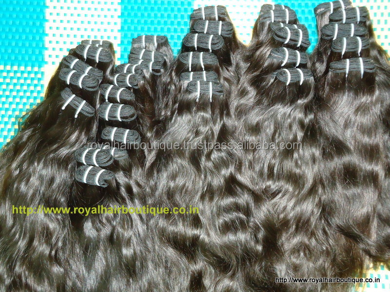 Wholesale thick BOTTOM virgin double drawn Indian hair, ROYAL HAIR BOUTIQUE