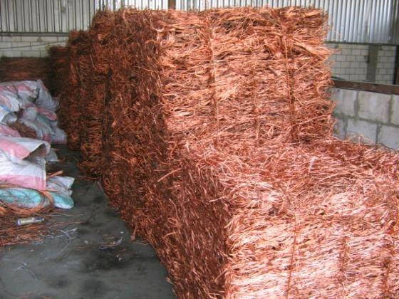 Thailand copper wire scrap 99.99% Millberry