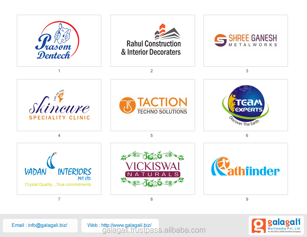 Professional Brand Logo Design and Creative Company Logo Design Service at Best Price