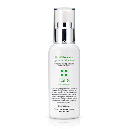 TALS Korean Biocosmetic Skin Care, Aesthetic, Professional Vitamin E Moisturizing Lotion for Sensitive, Dry Skin