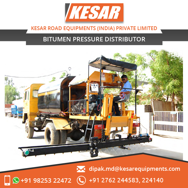 New Design Truck Mounted Emulsion Bitumen Distributor