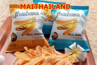 Thai Banana Chips THAIBANA Crispy Thin Layers Banana Chips (SWEET)