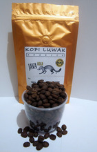 100% Authentic Kopi Luwak Java Arabica Authentic Civet Coffee - Roasted Beans