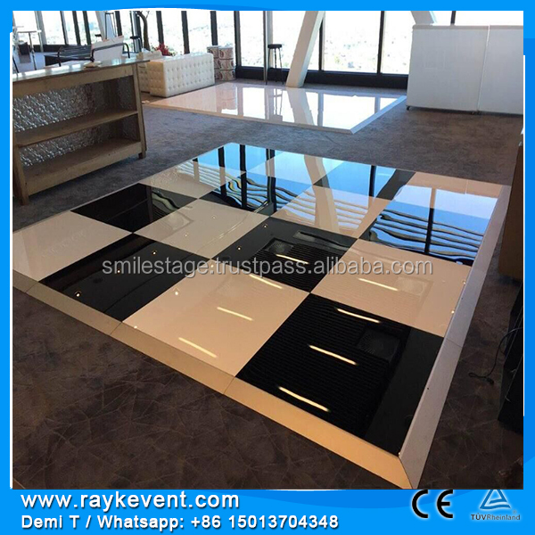 RK cheap dance floor for sale/ materials for dance floor/ wedding decoration event crystal box