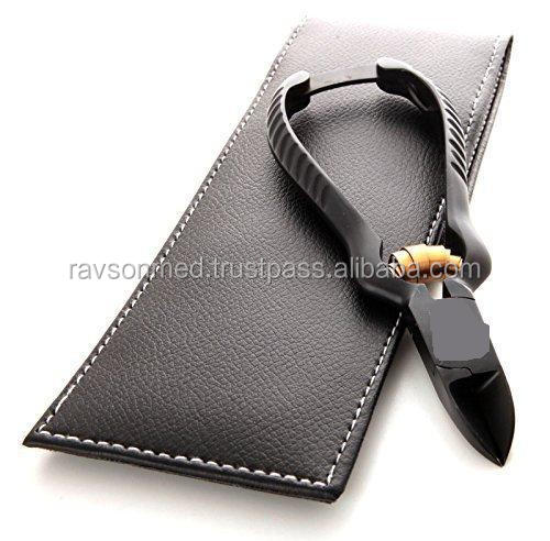 Professional Black Nail Clippers Nippers for thick nails Black&Gold /Nail Tools /Nail Clipper