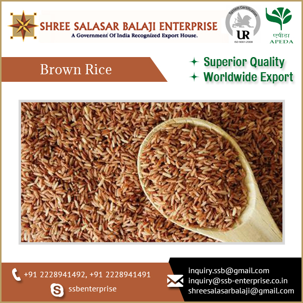 Finest And Premium Quality Of Brown Rice And With More Nutritious As Compared To White Rice