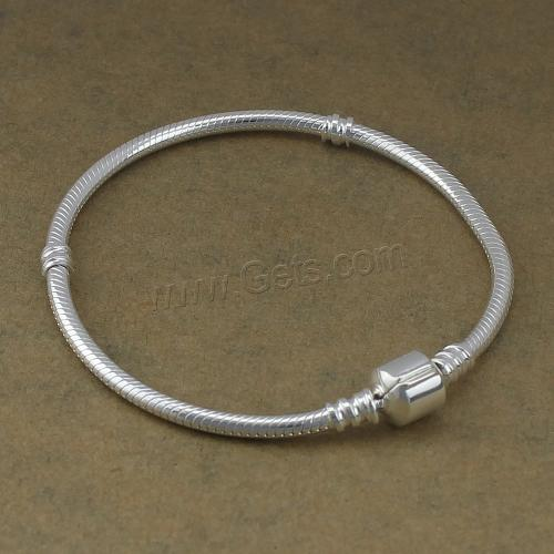 Wholesale Sterling Silver Bracelet Chain 925 Sterling Silver 3mm 4mm Sold Per 7.5 Inch 626473