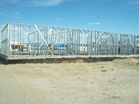 Light Steel Structure Frame for Prefab House