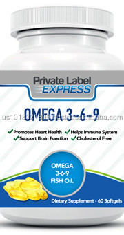 Omega 369 in softgel capsules