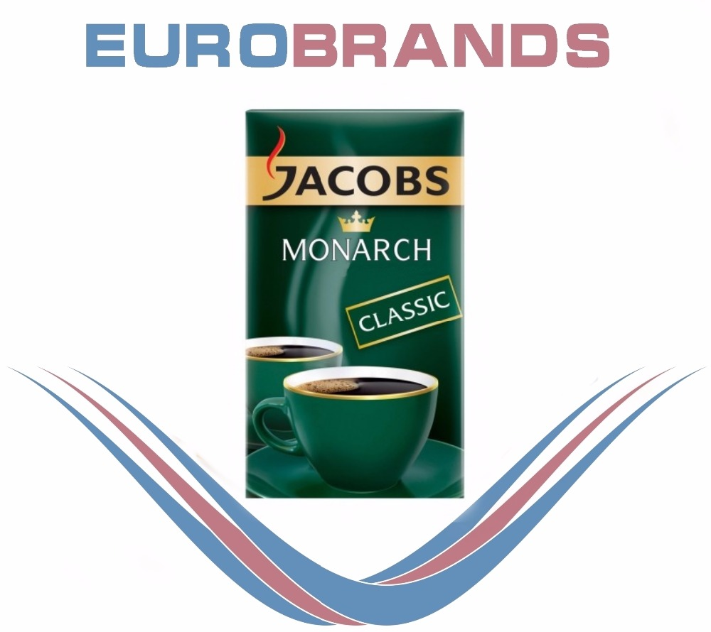 Jacobs ground coffee Monarch R&G 250g