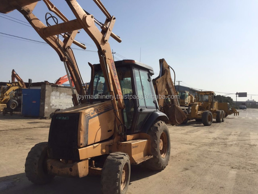 Excellent performance used CASE 580L backhoe