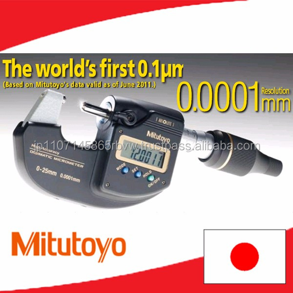 High-accuracy Mitutoyo micro meter power tools as famous product