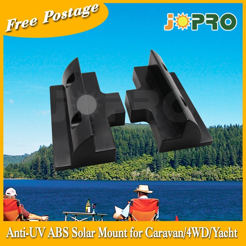 AU Stock Anti UV 180mm Side Bracket Mount Solar Panel Caravan Motorhome Boat RV 2 for 1set