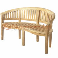 Bench Teak Outdoor Patio Furniture