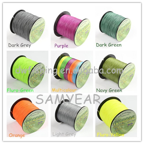 4 Strands Stock braided fishingline PE fishing line line fishing