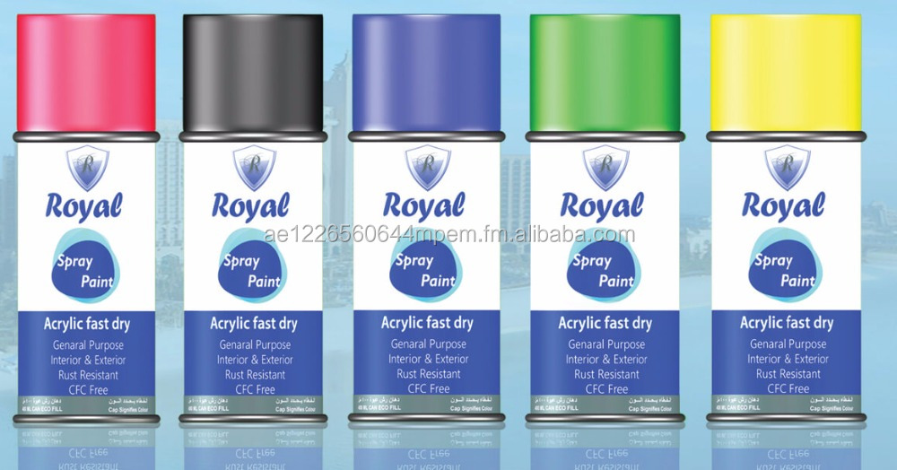 Royal Spray Paint for all purposes