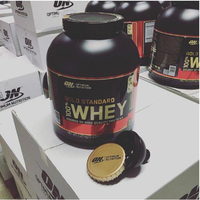 New Optimum Gold Standard 100 % Whey 5 Lb Chocolate Mint - Fast Shipping