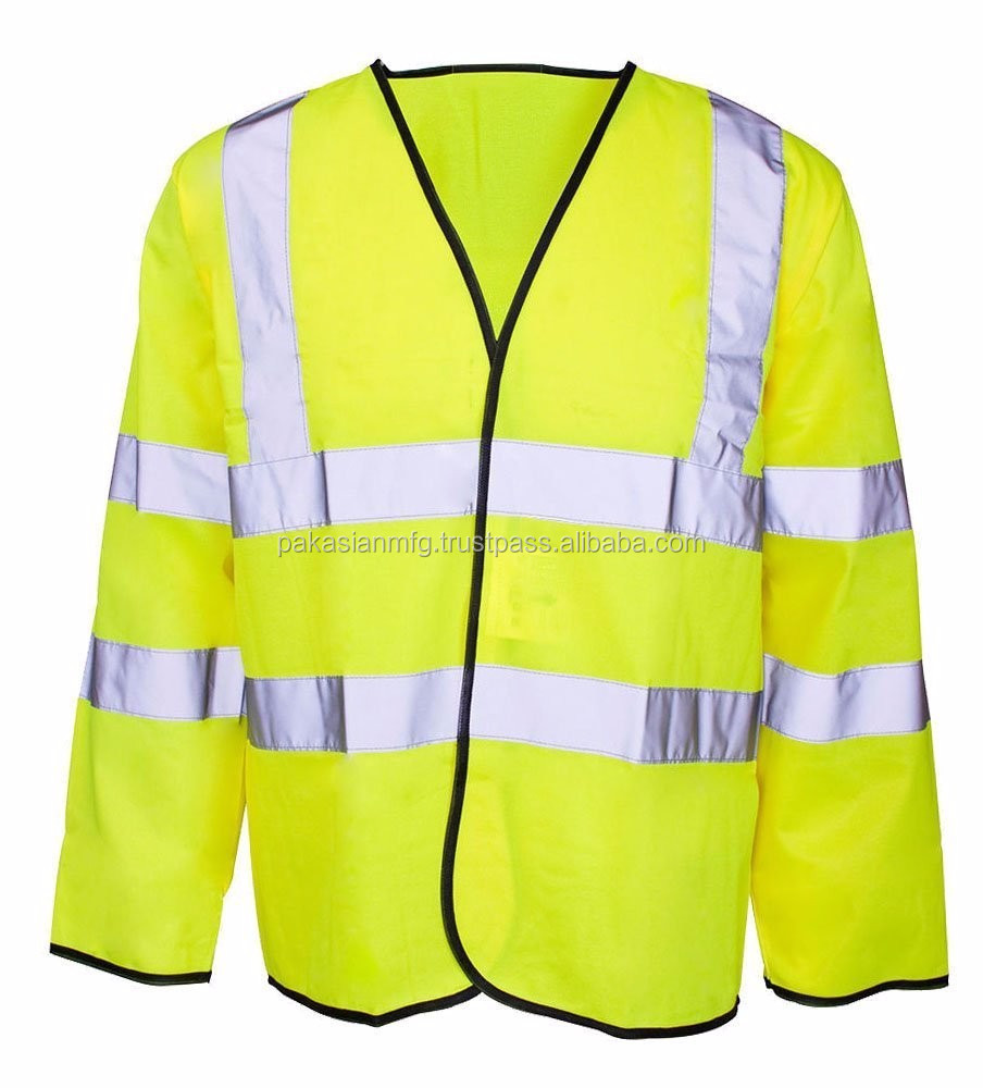 Top Quality Work Wear Jacket - 100% Polyester - Custom Made