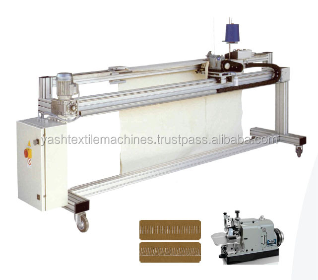 Linear Rail Sewing Machine with Adaptable with exisiting preparation