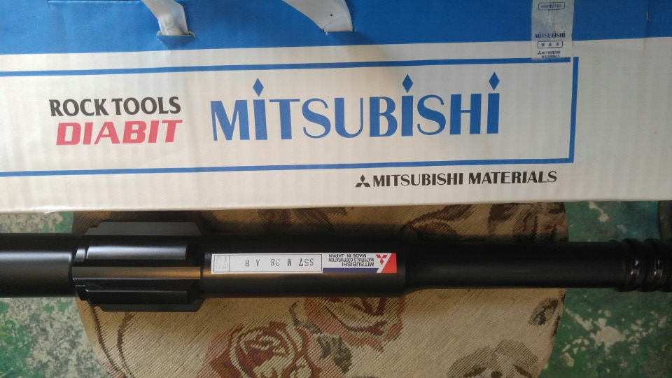 [ Winwin Used Machinery ] Drill accessories ( Rock Tool ) shanks Mitsubishi for Toyo drill For Sale