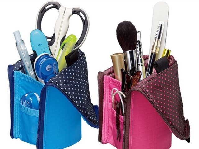 Easy to use and Innovative makeup bags cheap cute stand type pen case for A wide variety of , Japan's idea goods