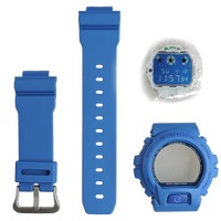 Casio G-Shock DW-6900MM-2 Watch Replacement Resin Band Bezel Movement Module Blue Color Authentic