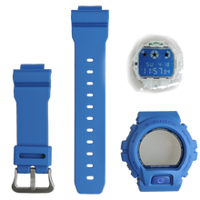 Casio G-Shock Watch Replacement Resin Band Bezel Movement Module Blue Color Authentic