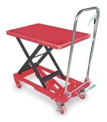 Scissor Lift Cart 400 lb. Steel Fixed