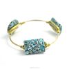 Factory Discount Prices New Fashion gemstone bangles