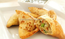frozen samosa curry triangle vegetarian snack , frozen samosa and spring rolls , Vegetable Chicken Frozen Samosa
