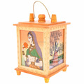 Jaipur Rajasthan Wooden handicraft home decor Larnten HANGING Lamp SHOWPIECE