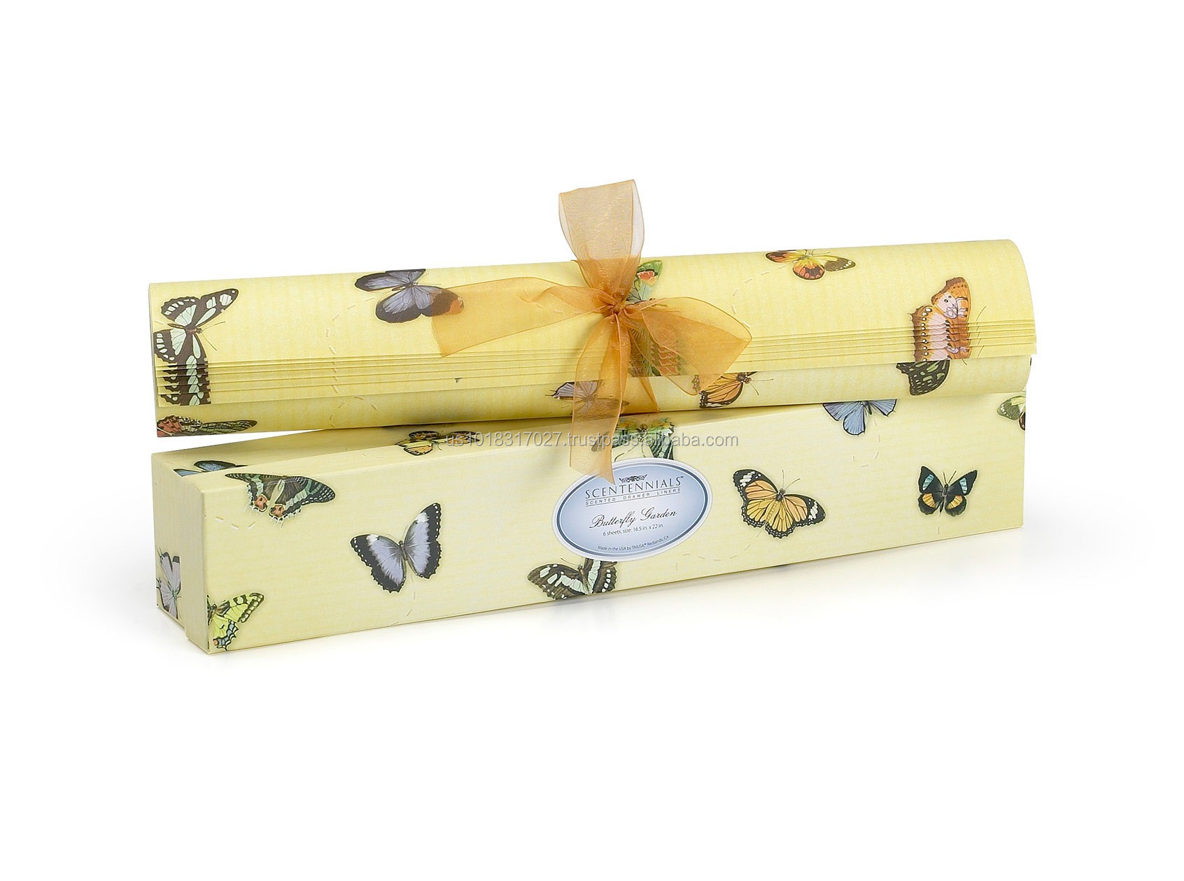 Butterfly Garden Scented Drawer Liner From Scentennials