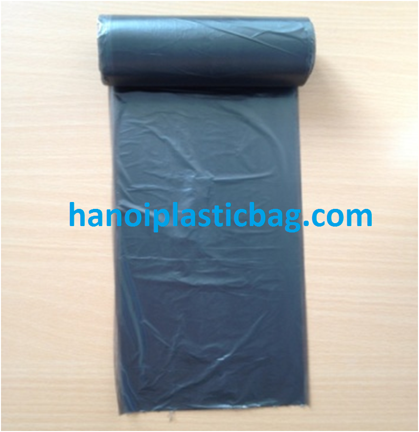 Disposable PE Plastic Pet Waste Bags on roll