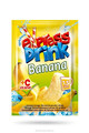 Flavoured powder instant juice BANANA