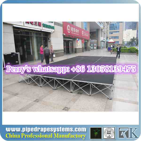 Best quality aluminum magic floating table for hall decoration