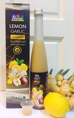 Lemon Garlic D'tox Juice