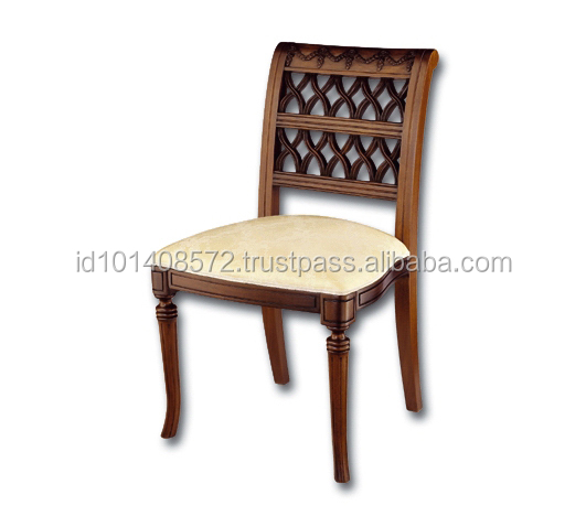 Mahogany Chair Farrel B Upholstery Carver Indoor Furniture