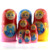 5 pcs Matryoshka with Praha landskape, Custom Russian nesting dolls with your city, Tourist souvenir gift, MS0503pr