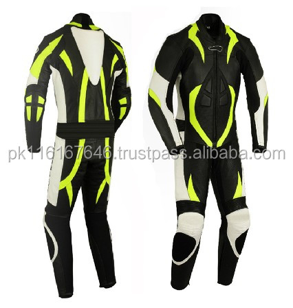 Leather Motor Bike Racing Super Style Biker Suit