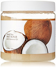 Dead Sea Salt/Sugar Peeling Body Scrub with Avocado Oil