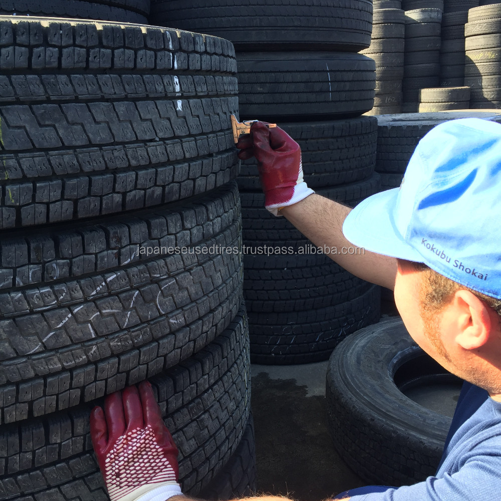 Reliable Japanese Major Brands used truck tires for sale, Good Inspection with Wholesale Price from Japan