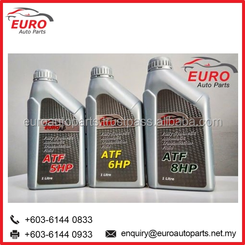 Euro Car Fully Synthetic ATF Engine Oil for Audi, BMW, Mercedes, Benz, Porsche and Volkswagen